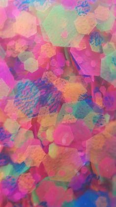 Glitter macros for your phone- Courtesy of Courtney Walker, blogger for Swatcher, Polish-ranger