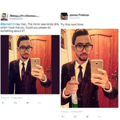 Have you ever hear of James Fridman? Well, James is a Photoshop guru. He can do best in Photoshop skill, you can request him to do as you want. Photoshop Fail, Funny Photoshop Requests, Funny Photoshop Pictures, Funny Pictures, Hilarious Photos, Photomontage, James Fridman, Hey Man, Funny Pins