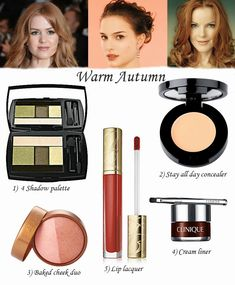 Ann Robie Fashion: The Best Makeup For Three Autumn Types, warm Autumn