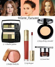 Ann Robie Fashion: The Best Makeup For Three Autumn Types, warm Autumn
