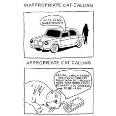 Inappropriate v. Appropriate Catcalling -- Women's T-Shirt/Tanktop