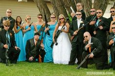 #wedding gun control? Lol could see this happening..
