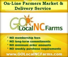 Mobile/Online Farmers Market & Delivery Service serving Charlotte & the Piedmont of NC