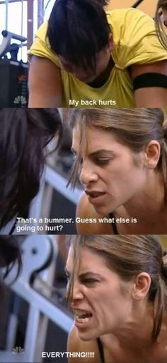 haha love her - Jillian Michaels I really need her to motivate me!!