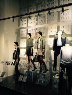New Spring vidrieras en Barcelona inspiración Verano 2016