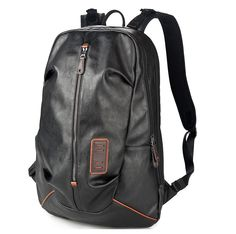 Find More Backpacks Information about PU Leather Rucksack Men's Backpack Black For 15 Inch Laptop Multi Interlayer Pocket Day Pack Large Travel 140092,High Quality backpack plush,China backpack wheels Suppliers, Cheap backpack construction from ChuangHuiBo Trade Co., Limted on Aliexpress.com