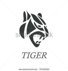 logo vector tiger - Recherche Google