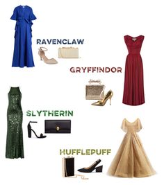 """""""Yule Ball//Harry Potter Inspired Gowns"""" by emily-bochette on Polyvore featuring Badgley Mischka, Sole Society, Delpozo, Journee Collection, Steve Madden, RED Valentino, Dolce&Gabbana, H&M, Alexander McQueen and Jimmy Choo"""
