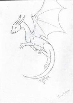 dragon flying drawing easy draw sketches drawings animal sketch simple anime coloring doodles illustrations realistic creatures mythical easydrawings blogestv kolay