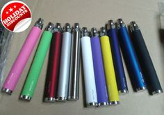 Wholesale - Electronic Cigarette eGo-C Twist Battery At the bottom of the knob and regulating 900mah 650mah 1100 mah Battery Hot