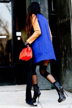 www.VictoriyaTodorova.blogspot.com  Paris Men Fashion Week Street style from Vogue Russia