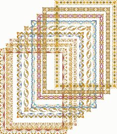Gold Frame Shiny Vectors Free Vector Cd R, Coreldraw, Vector File, Cnc Router, Fancy, Quilts, Frame, Gold, Vectors