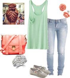 """""""chyna's outfit going to ihop and bowling"""" by dope-thuglife-4eva ❤ liked on Polyvore"""