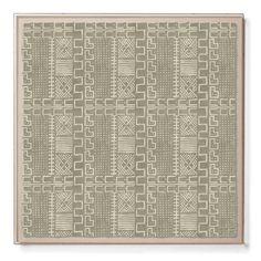 Mud Cloth II - Sublime Framed Print