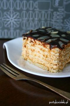 Other Recipes, Sweet Recipes, No Bake Desserts, Dessert Recipes, Polish Recipes, Polish Food, Sweets Cake, Dream Cake, Confectionery