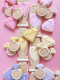 Bachelorette Party Quotes, Bachelorette Party Cookies, Engagement Cookies, Engagement Sets, Engagement Parties, Party Tattoos, Wedding Cards Handmade, Cookie Cutter Set, Cookie Decorating