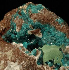 Dioptase by Woods Stoneworks and Photo Factory, via Flickr