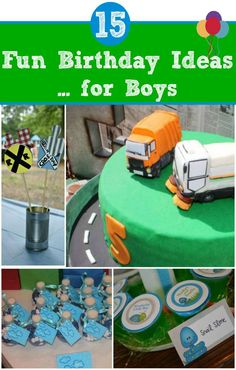 Fun Birthday Ideas for Boys