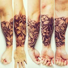 Flores Tattoo  SantTattoo