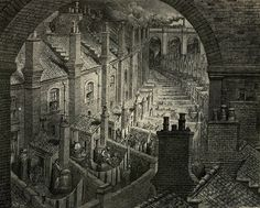 London: A Pilgrimage by Gustave Dore - British Library Prints