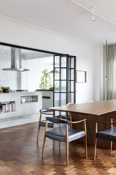 MAD ABOUT INTERIOR DESIGN — Renovated Apartment in São Tomás Building, in São...