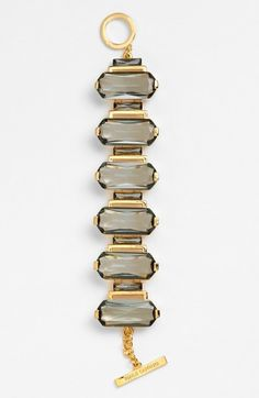 Vince Camuto Blush Factor Stone Toggle Bracelet | Jewelry and Accessory