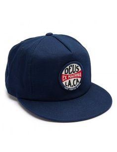 DEUS Jimmy Snapback cap - blue