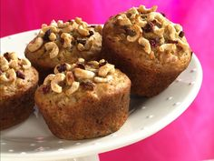 Cheerios Banana-Raisin Muffins - Cheerios recipes curated by SavingStar Grocery Coupons. Save money on your groceries at SavingStar.com