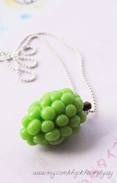 Hey, I found this really awesome Etsy listing at https://www.etsy.com/listing/111947754/kawaii-polymer-clay-grapes-charm