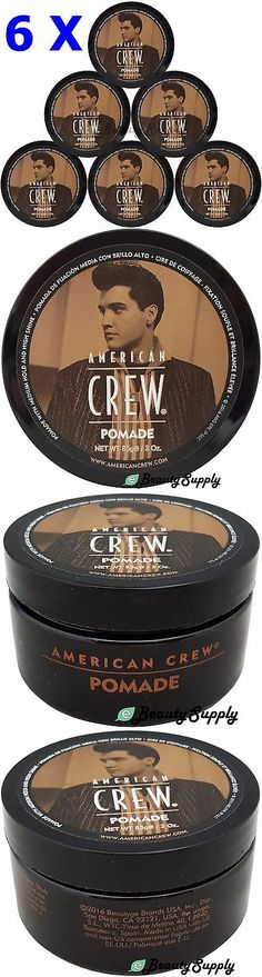 Styling Products: American Crew Pomade For Men 3 Oz Medium Hold With High Shine (Pack Of 6) -> BUY IT NOW ONLY: $53.95 on eBay!