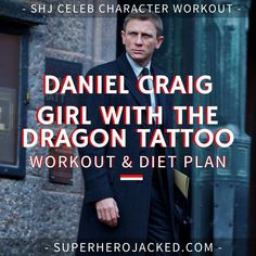 Daniel Craig Workout Routine and Diet: How to train like James Bond – Superhero Jacked Dip Workout, Push Up Workout, Gym Workouts, Workout Plan For Men, Workout Diet Plan, Daniel Craig Workout, Overhead Tricep Extension, Preacher Curls