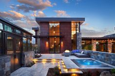 Remote Colorado mountain home blends modern and comfortable