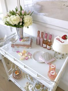 """Check out our web site for additional information on """"bar cart decor inspiration"""". It is an outstanding place to learn more. Diy Bar Cart, Gold Bar Cart, Bar Cart Styling, Bar Cart Decor, My Funny Valentine, Refreshing Cocktails, Fun Cocktails, White Bar Stools, Outside Bars"""