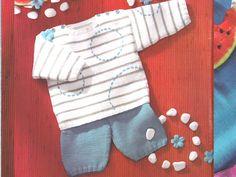 Pastèque : pull et bermuda bébé