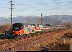 RailPictures.Net Photo: AMTK 156 Amtrak GE P42DC at Colton, California by Matthew Griffin