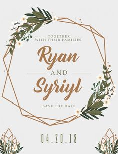 Save the Date Card Templates. 20 Save the Date Card Templates. Free Invitation Cards, Free Wedding Invitation Templates, Wedding Invitation Card Template, Save The Date Templates, Save The Date Invitations, Save The Date Cards, Templates Free, Design Templates, Create Invitations