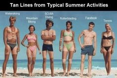Praise in the Storm: How Dark Are Your Tan Lines?
