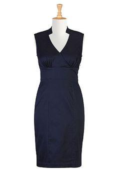 eShakti The admiralty blue dress