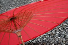 Watermelon Red Paper Parasol - 84 cm Diameter | My Wedding Store | E-Commerce LTD