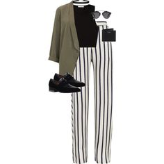 A fashion look from June 2016 featuring Pieces tops, Topshop blazers and Nicholas pants. Browse and shop related looks.
