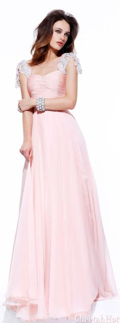 Cheap Prom Dresses Long Beaded A-Line Pleated Backless Sherri Hill 1495 Blush Sherri Hill Prom Dresses, Cheap Prom Dresses, Bridesmaid Dresses, Formal Dresses, Bridesmaid Ideas, Wedding Bridesmaids, Party Dresses, Wedding Gowns, Pastel Gown