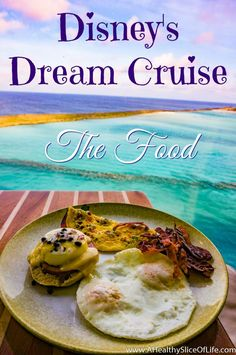 Disney Dream Cruise Food edition.  Everything you've wanted to know about the cuisine for your next vacation on Disney's Dream Cruise. From fine dining to food carts;  an honest review from a Healthy Foodie!