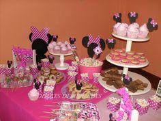 minnie mouse baby shower | ... ,Catering de mesas dulces Ambientadas: MESA DE MINNIE PARA CATA