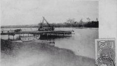 Le Warf côté lagune à Grand Bassam en Côte D'Ivoire en Afrique de L'Ouest