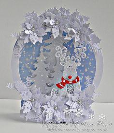 Tattered Lace snow globe....