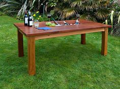 Bespoke Outdoor Table With Ice Trough by GRKfurniture on Etsy, £1800.00.  lol at the price.  like to diy.