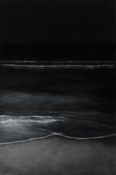 Black water at night