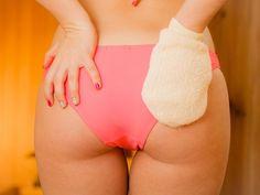 Exfoliate The Skin Of Your Buttocks