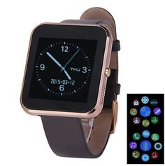 Original Zeblaze Rover Smart Watch MTK2501 Bluetooth 4.0 for IOS and Andriod System Phone Talk Watch Mutilanguage Leather Strap