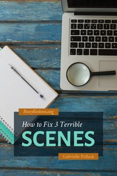 Have you ever written a scene that feels off, and you're not sure why? How do you fix it? Staff writer Gabrielle hands you the tools you need to repair your broken scenes and get them spinning along with the rest of your thrilling plot. #writing #writingtips #writingadvice Editing Writing, Fiction Writing, Writing Advice, Writing Process, Writing A Book, National Novel Writing Month, Writer Tips, Writing Characters, Self Publishing